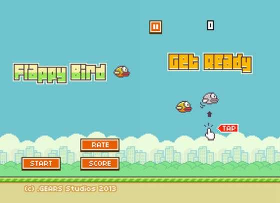 大红大紫的个人制作游戏 Flappy Bird 将要下架了