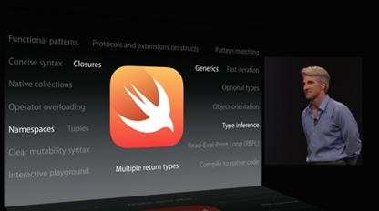 苹果编程语言Swift解析:将推动应用开发巨变