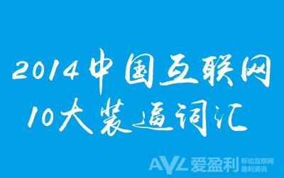 2014年中国互联网10大装逼词汇
