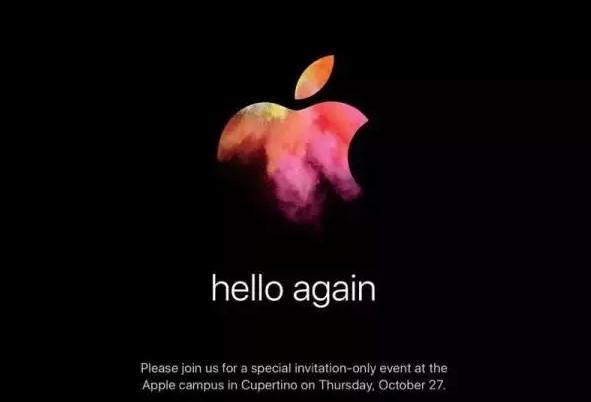 苹果正式发布邀请函,下周举行 Mac 新品发布会,你最期待哪一款产品?