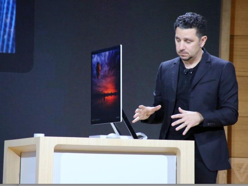 """微软发布SurfaceStudio,28英寸触屏可""""推倒"""";iPhone8可能回归双玻璃机身,新增5寸机型"""