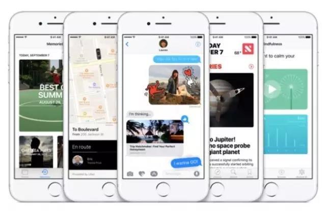 苹果官方宣布 iOS 10 安装率已达 60% !