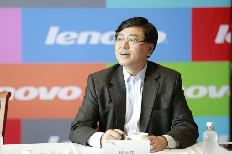杨元庆:Moto将是联想唯一的手机品牌