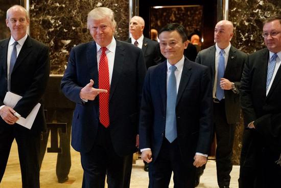 马云对话特朗普,五年内为美国创造100万就业岗位