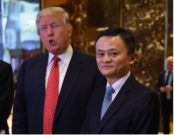 爱盈利早报:马云对话特朗普,要在美国创造100万就业;美图官微自曝T8手机,2月21日上市发售