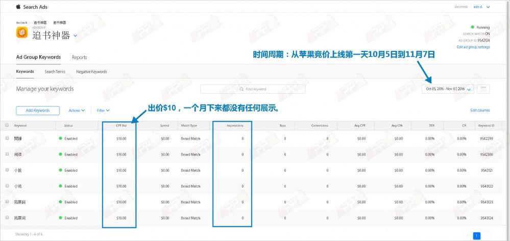 【ASM优化系列一】中文词在App Store美国区竞价广告怎么投?