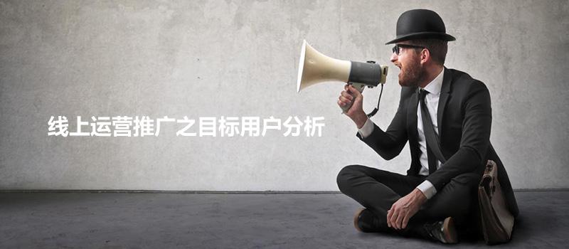 线上运营推广之目标用户分析