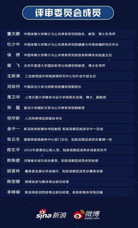 2017年政务微博最佳服务案例(五)